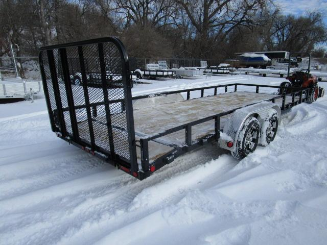 "2019 PJ Trailers 20'x83"" Tndm Axle Channel Utility Trailer"