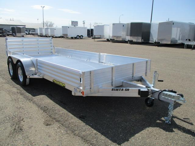 2020 Aluma 8116TA SR Tandem Axle Utility Trailer
