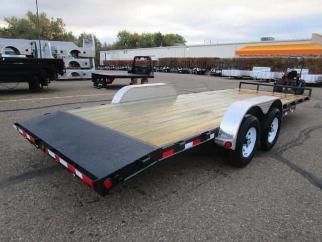 "2019 PJ Trailers 22' x 5"" Channel Equipment Trailer"
