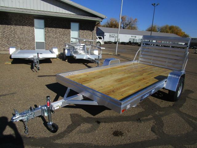 2018 Aluma 6812 Edge Series Wood Deck Utility Trailer