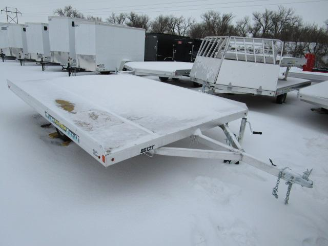 2019 Aluma 8612T Snowmobile Tilt Trailer