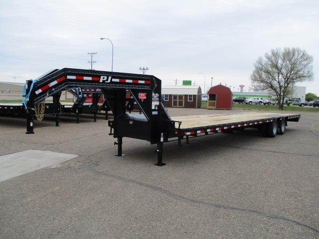 2020 PJ Trailers 36' Low-Pro Flatdeck with Duals Trailer