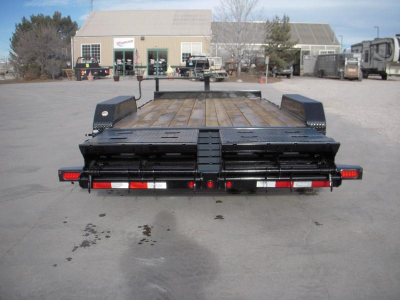 2019 Big Tex Trailers 14ET-18BK-MR Flatbed Trailer