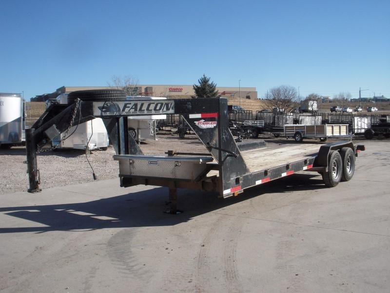 2006 FALCON 14GN 20 Flatbed Trailer