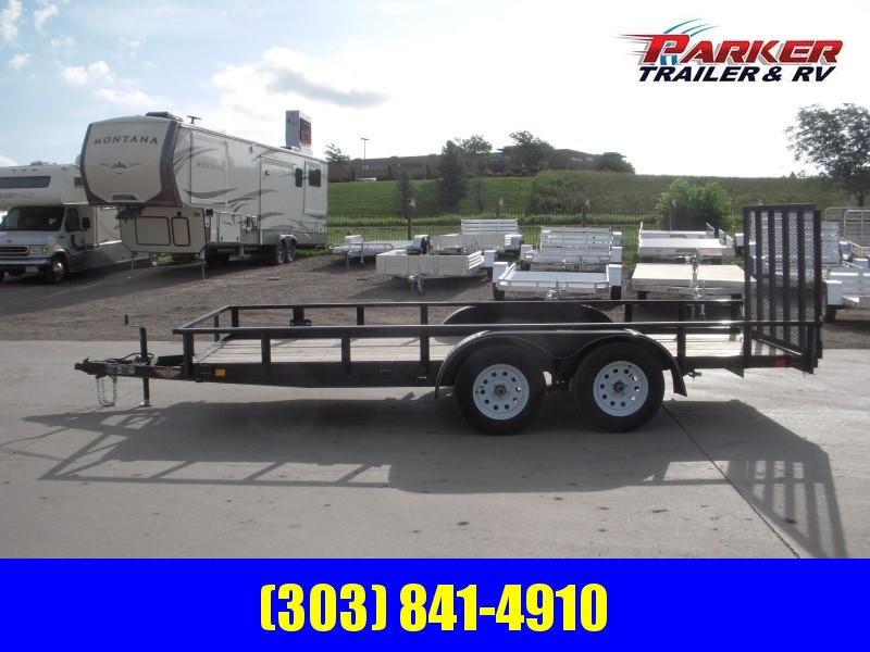 2019 H&H H7616TRS-070 Utility Trailer