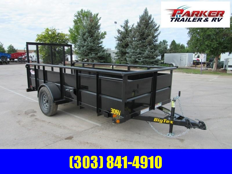 2020 Big Tex Trailers 30SV-12BK Utility Trailer