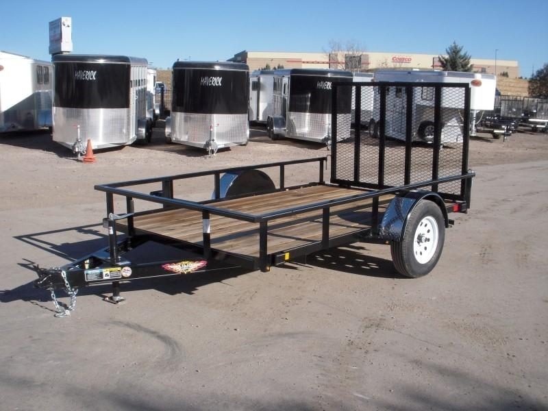 2019 H&H H7610RS-030 Utility Trailer