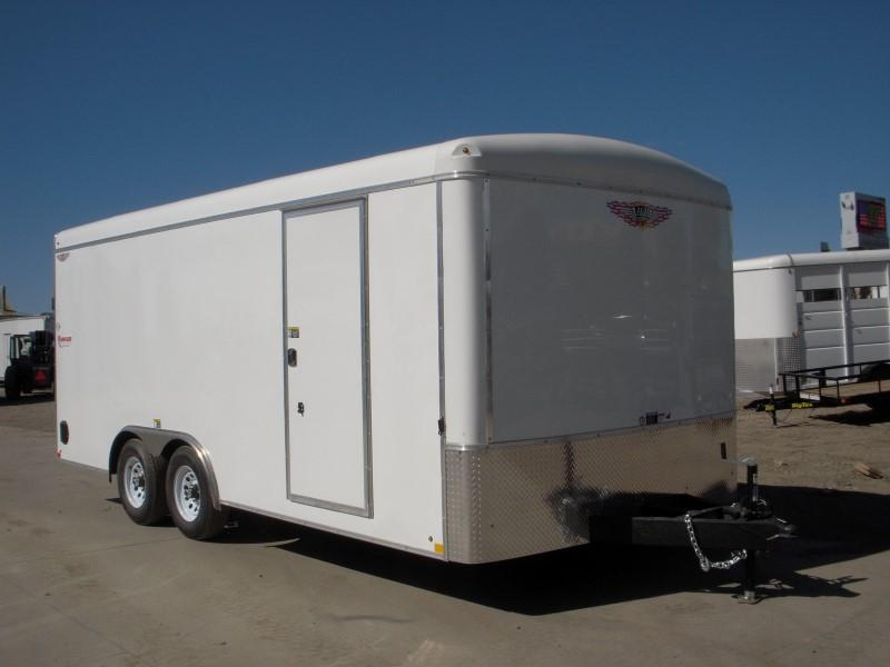 2018 H&H H10118TRT-100 Enclosed Cargo Trailer