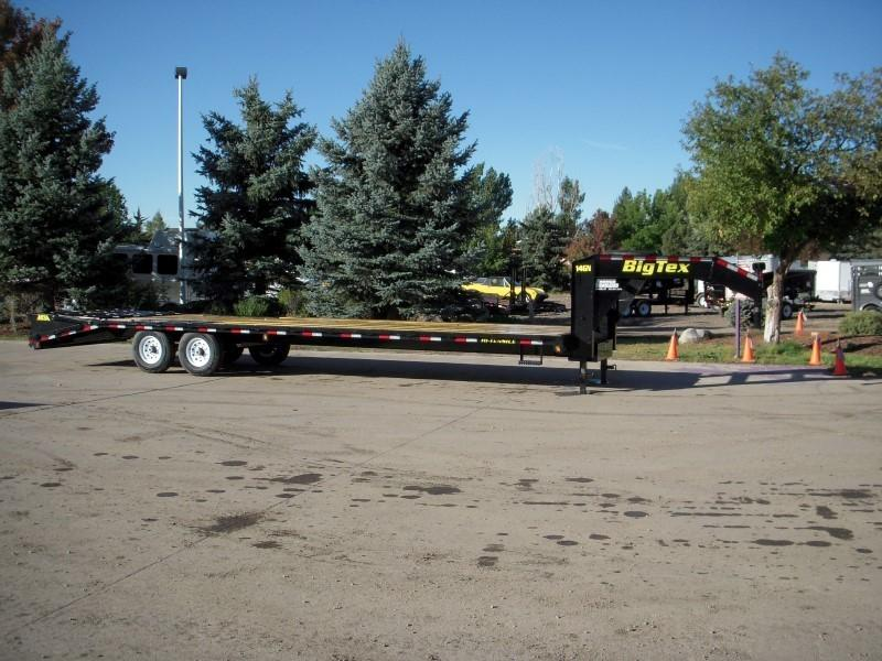 2018 Big Tex Trailers 14GN-25BK+5MR Flatbed Trailer