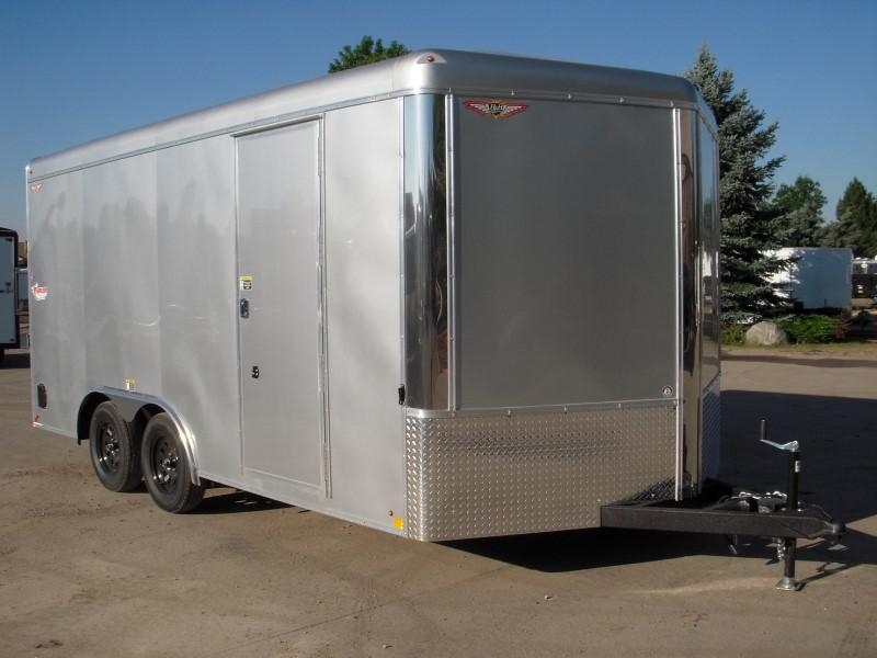 2018 H&H H10116TRTV-070 Enclosed Cargo Trailer
