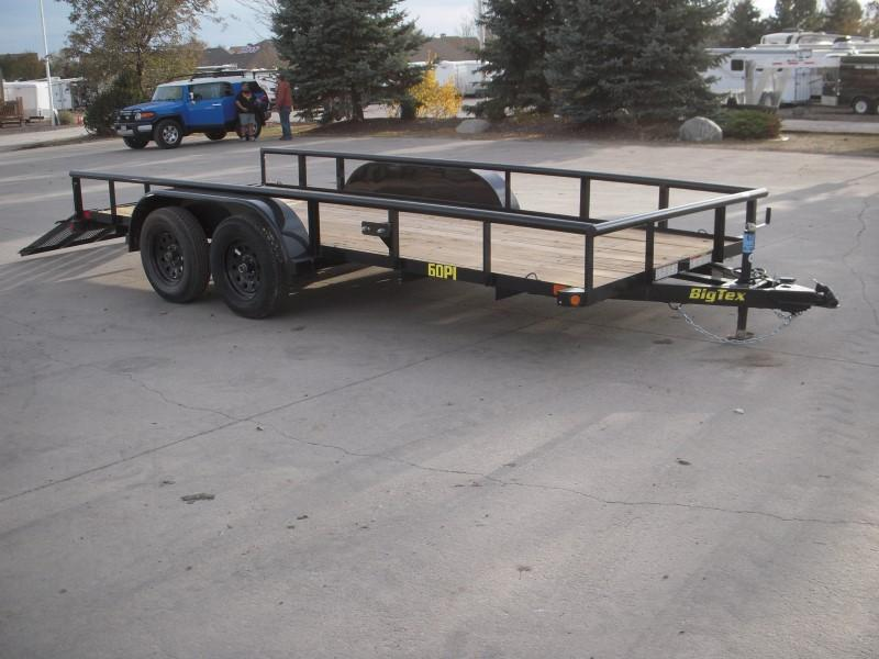 2019 Big Tex Trailers 60PI-16BK4RG Utility Trailer