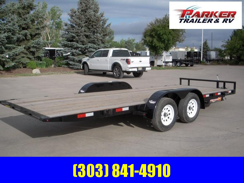 2019 H&H H8220MX-070 Flatbed Trailer
