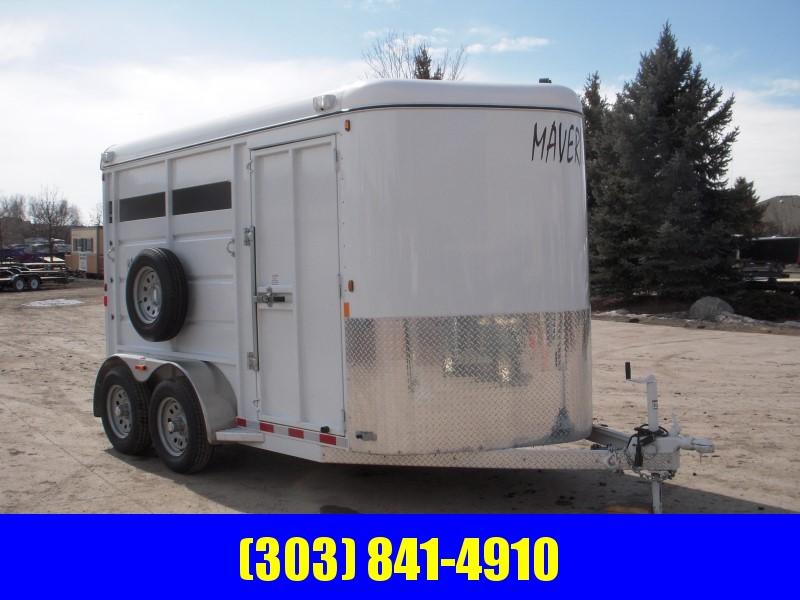2019 Maverick MAV13-2HS Horse Trailer