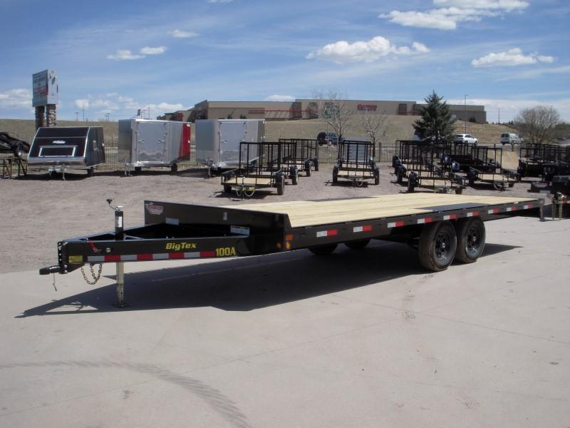 2018 Big Tex Trailers 10OA-20BK-8SIR Flatbed Trailer