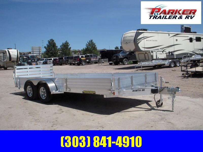 2020 Aluma 8118TA SR Utility Trailer
