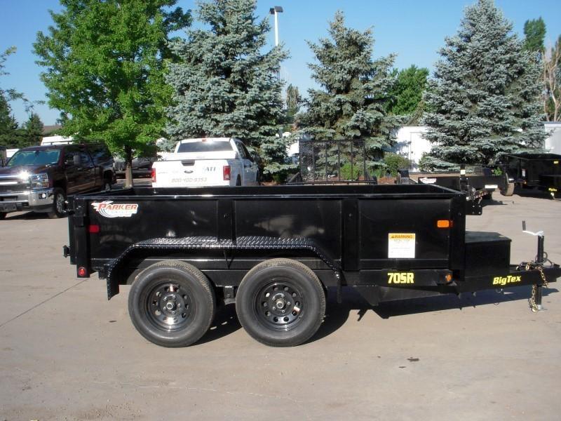 2019 Big Tex Trailers 70SR-10-5WDD Dump
