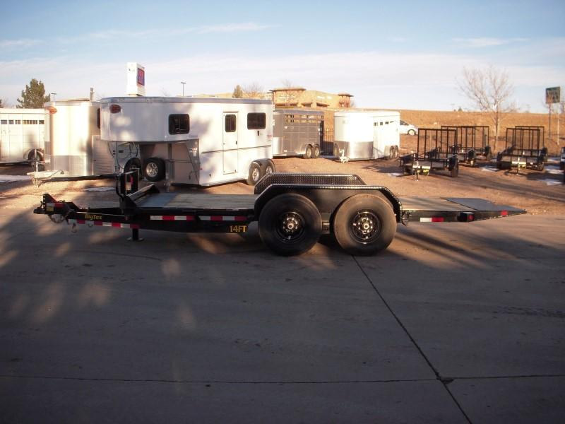 2019 Big Tex Trailers 14FT-16 Flatbed Trailer