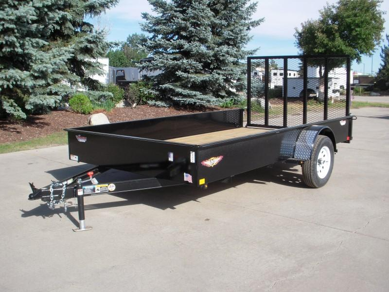 2018 H&H H8212SS-030 Utility Trailer