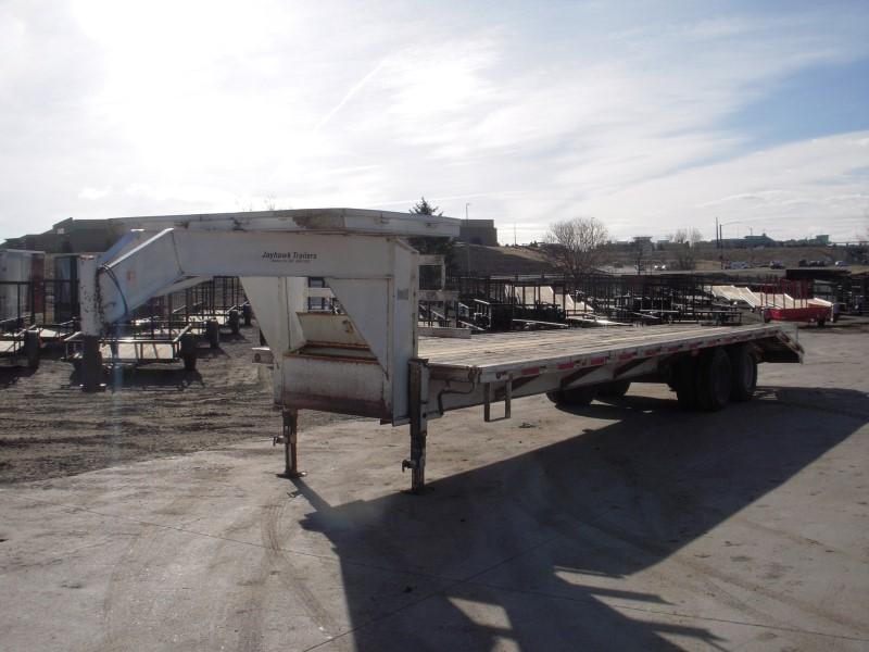 2001 RCM GN 20 Flatbed Trailer