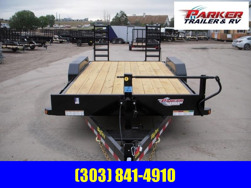 2019 Big Tex Trailers 14ET-18BK-KR Flatbed Trailer