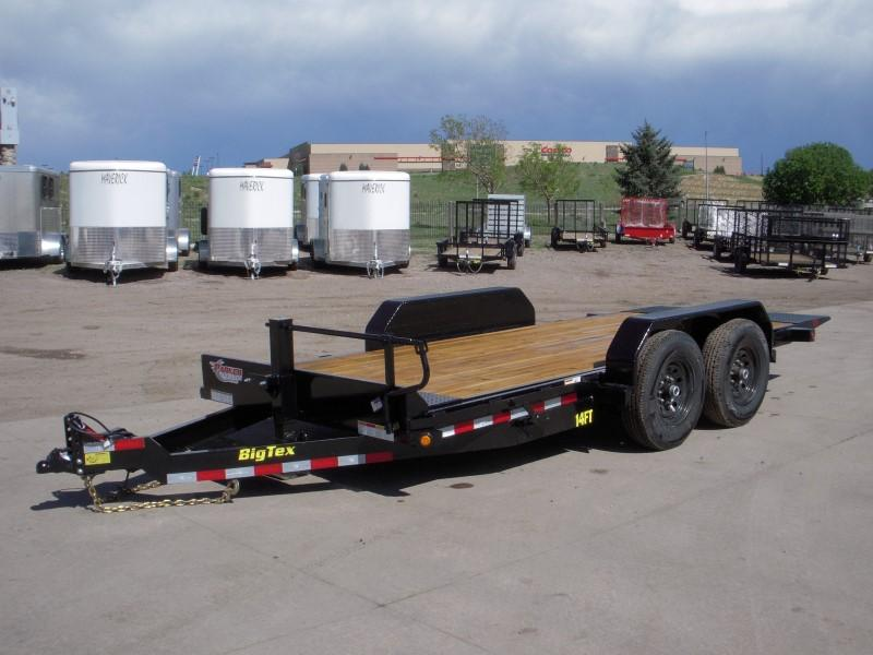 2018 Big Tex Trailers 14FT-16 Flatbed Trailer