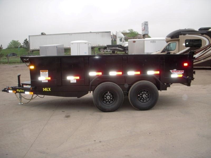 2019 Big Tex Trailers 14LX-14BK7SIRPD Dump