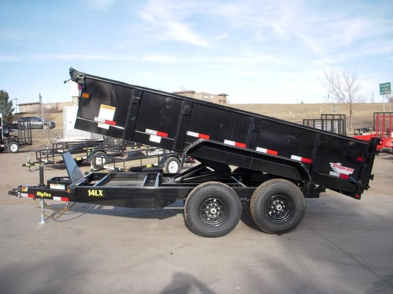 2018 Big Tex Trailers 14LX-14BK7SIRPD Dump