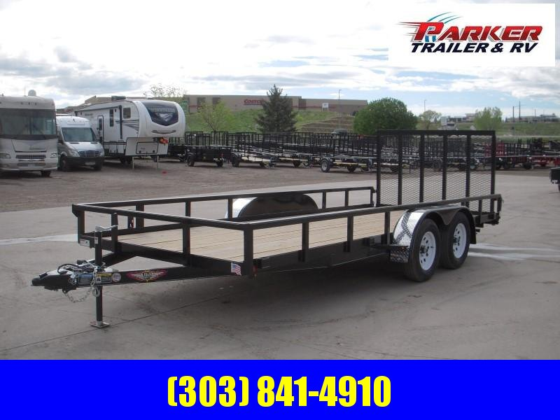 2019 H&H H8218TRS-070 Utility Trailer