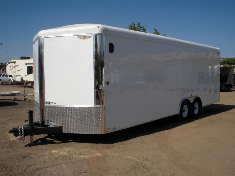 2019 H&H H10124RTCHV-100 Enclosed Cargo Trailer