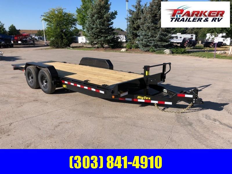 2020 Big Tex Trailers 14FT-20 Flatbed Trailer