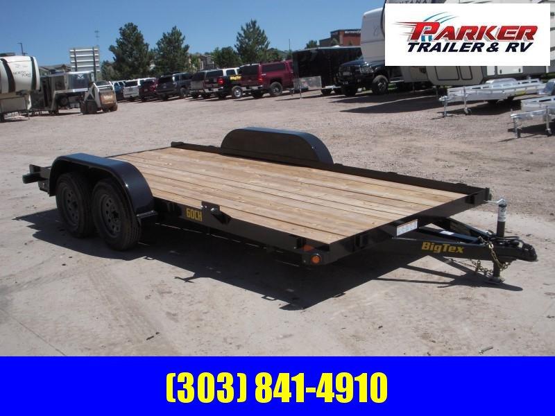 2020 Big Tex Trailers 60CH-16BK Flatbed Trailer