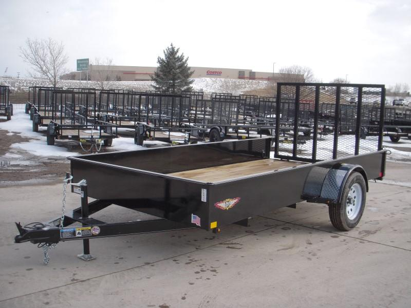 2019 H&H H7612SS-030 Utility Trailer