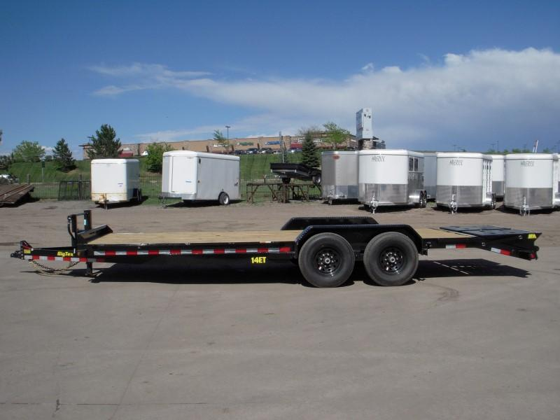 2018 Big Tex Trailers 14ET-22MR Flatbed Trailer