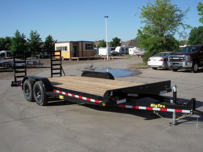 2019 Big Tex Trailers 10ET-18BK-KR Flatbed Trailer