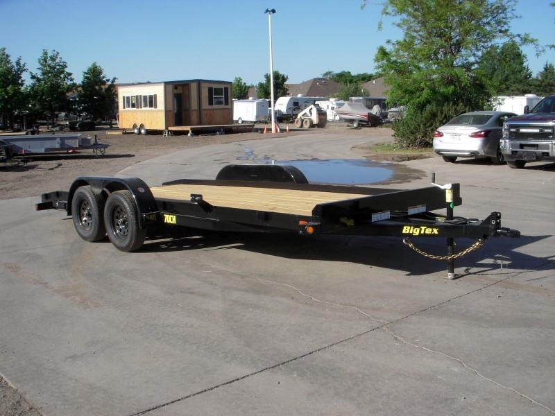 2019 Big Tex Trailers 70CH-18BKDT Flatbed Trailer