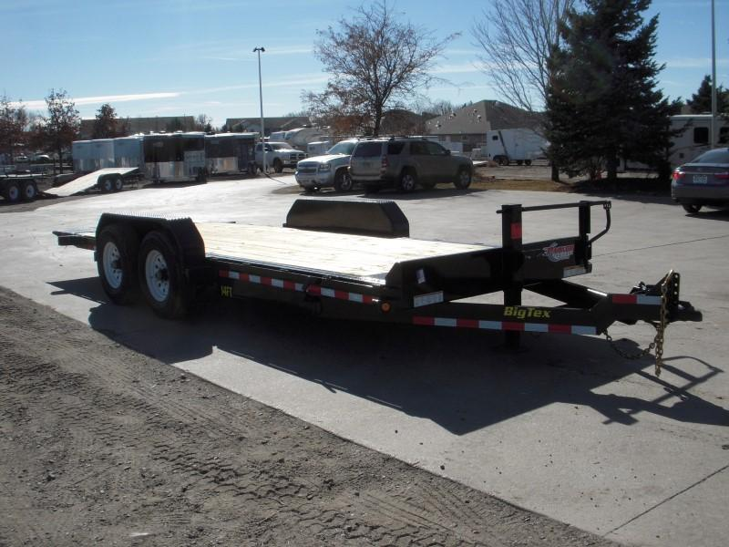2018 Big Tex Trailers 14FT-20 Flatbed Trailer