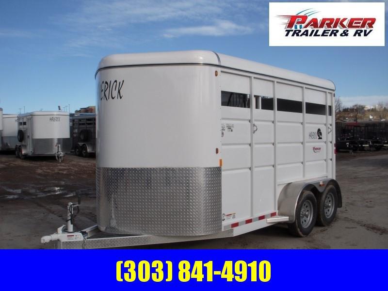 2019 Maverick MAV2HS-7K 14ft Horse Trailer