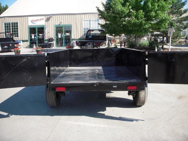2018 Big Tex Trailers 50SR-08-5WDD Dump