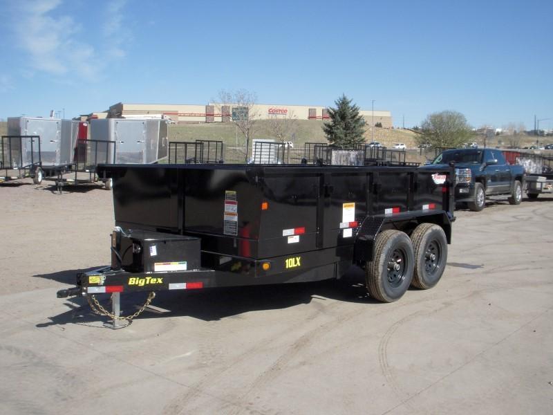 2018 Big Tex Trailers 10LX-12BK7SIRPD Dump