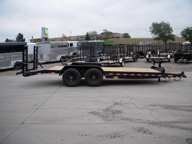 2019 Big Tex Trailers 14ET-20BK-KR Flatbed Trailer