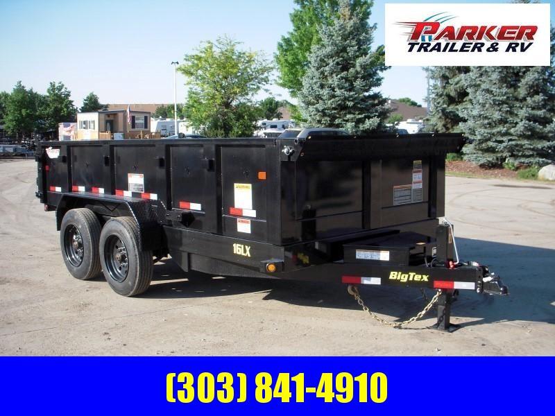 2019 Big Tex Trailers 16LX-14BK7SIRPD Dump