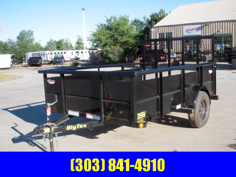 2019 Big Tex Trailers 35SV-10BK Utility Trailer