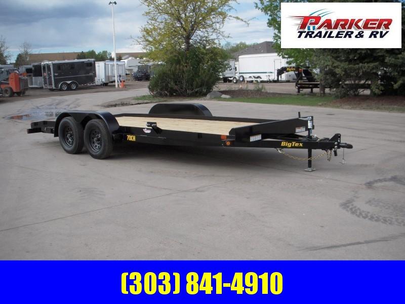 2020 Big Tex Trailers 70CH-18BKDT Flatbed Trailer