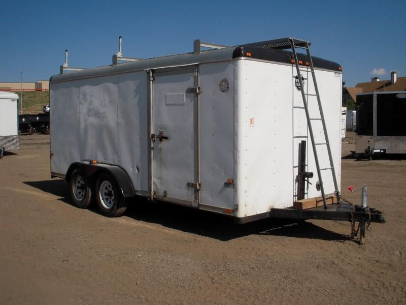 1995 Wells Cargo 7X14 CARGO Enclosed Cargo Trailer