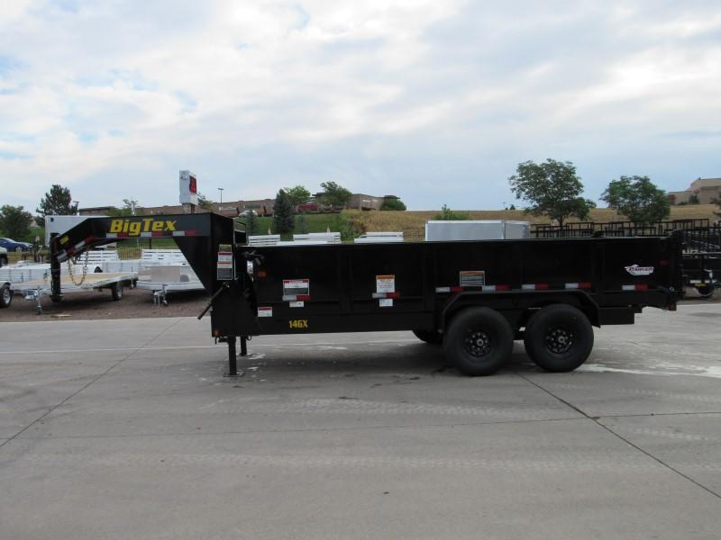 2020 Big Tex Trailers 14GX-16BK7SIRPD Dump