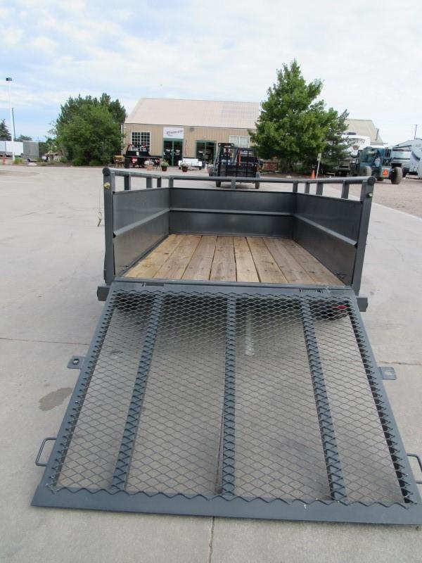2020 Big Tex Trailers 30SV-08GY Utility Trailer