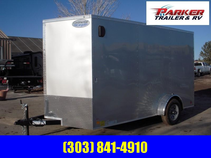 2020 CNCG TXVHW712SA Enclosed Cargo Trailer