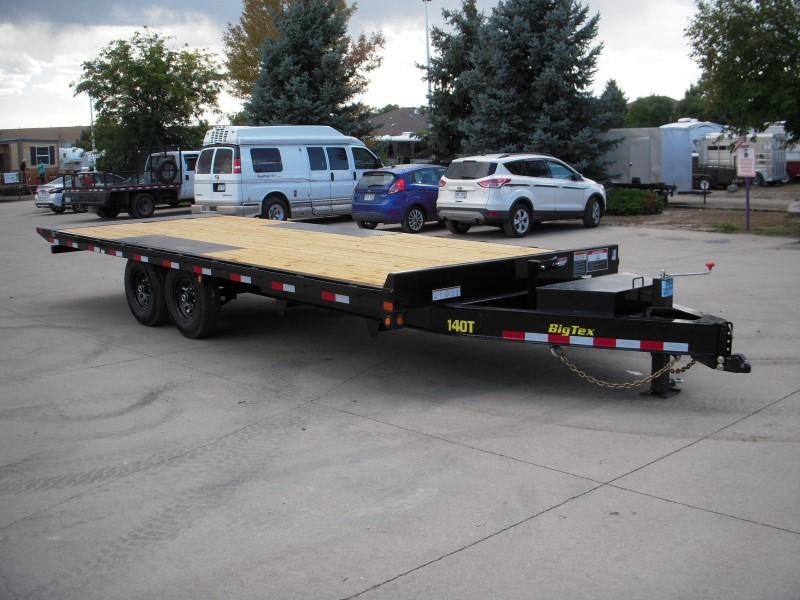 2019 Big Tex Trailers 14OT-22 Flatbed Trailer