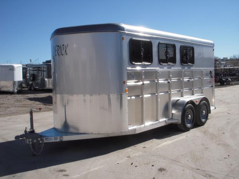 2019 Maverick MAVLITE3H-7K DX Horse Trailer