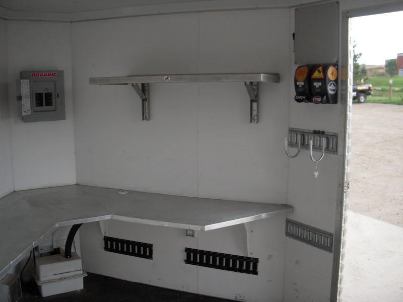 2013 ALUM CUSTOM QUEST 26 Enclosed Cargo Trailer
